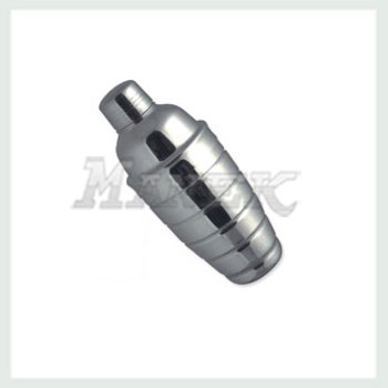 Cocktail Shaker, Ribbed Cocktail Shaker, Stainless Steel Cocktail Shaker, Wholesale Stainless Steel Cocktail Shaker