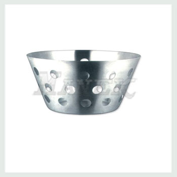 Conical Bread Basket, Stainless Steel Bread Basket, Wholesale stainless steel bread basket