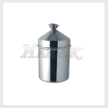 Canister with Conical Lid, Stainless Steel Canister with Conical Lid, Kitchen Canister with Conical Lid