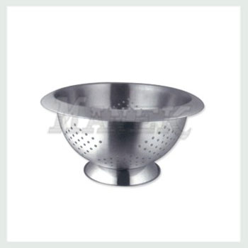 Colander, Stainless Steel Colnader, Colander with Bend colar