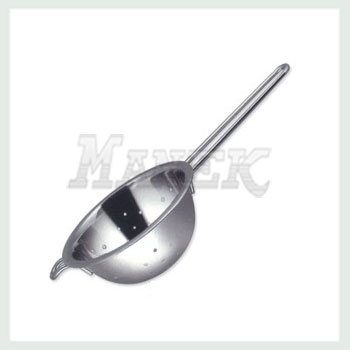 Soup Strainer, Stainless Steel Soup Strainer, Soup Strainer with Wire Handle, Kitchen Strainer, Stainless Strainer