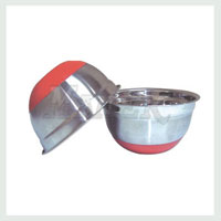 Antiskid Mixing Bowl with Rubber Base