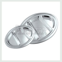 Oval Compartment Tray