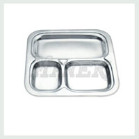 Square Compartment Tray